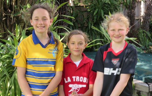 Taysen Wilcox, Rylie Wilcox and Hannah Eldridge selected for the 2014 Junior Zone Challenge.