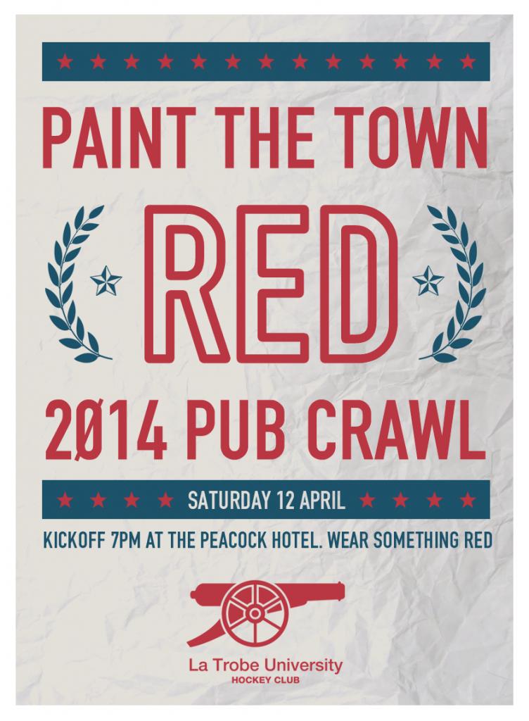 Pub Crawl 2014