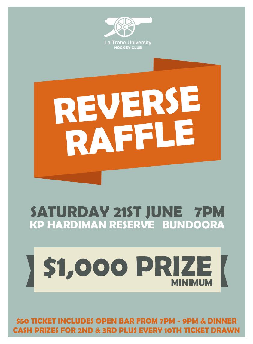reverse raffle rules