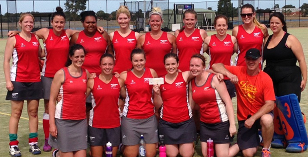La Trobe Univerisity Hockey Club Women's 1s Pick Up Gold at Werribee Preseason Tournament